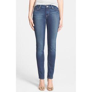 Paige / Skyline Skinny Peg Jeans Medium Wash